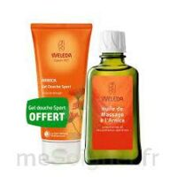 Weleda huile de massage arnica 200ml  + Gel douche OFFERT à Savenay