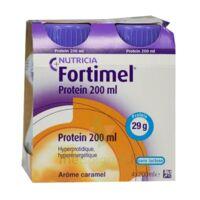 Fortimel Protein Nutriment Caramel 4 Bouteilles/200ml à Savenay