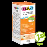 Pédiakid 22 Vitamines et Oligo-Eléments Sirop abricot orange 125ml à Savenay