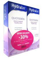 Hydralin Quotidien Gel lavant usage intime 2*200ml à Savenay