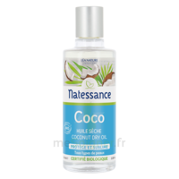 Natessance Huile Coco Bio 100% Pure 100ml à Savenay