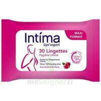 Intima Gyn'expert Lingettes Cranberry Paquet/30 à Savenay
