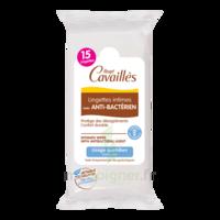 Rogé Cavaillès Intime Lingette avec anti-bactérien Pochette/15 à Savenay