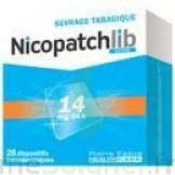 NICOPATCHLIB 14 mg/24 h Dispositifs transdermiques B/7 à Savenay
