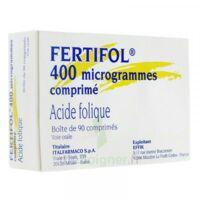 FERTIFOL 400 µg Cpr Plq/90