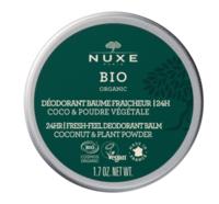 Nuxe Bio Déodorant Baume Fraîcheur 24h Toutes Peaux Pot/50g à Savenay