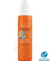 Avène Eau Thermale Solaire Spray Enfant 50+ 200ml à Savenay