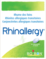 Boiron Rhinallergy Comprimés B/40 à Savenay