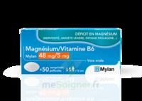 Magnesium/vitamine B6 Mylan 48 Mg/5 Mg, Comprimé Pelliculé à Savenay