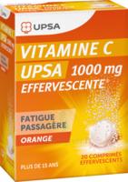 Vitamine C Upsa Effervescente 1000 Mg, Comprimé Effervescent à Savenay